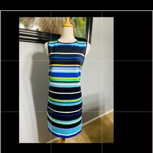 Maggy London Striped Dress size 14 new, no tags